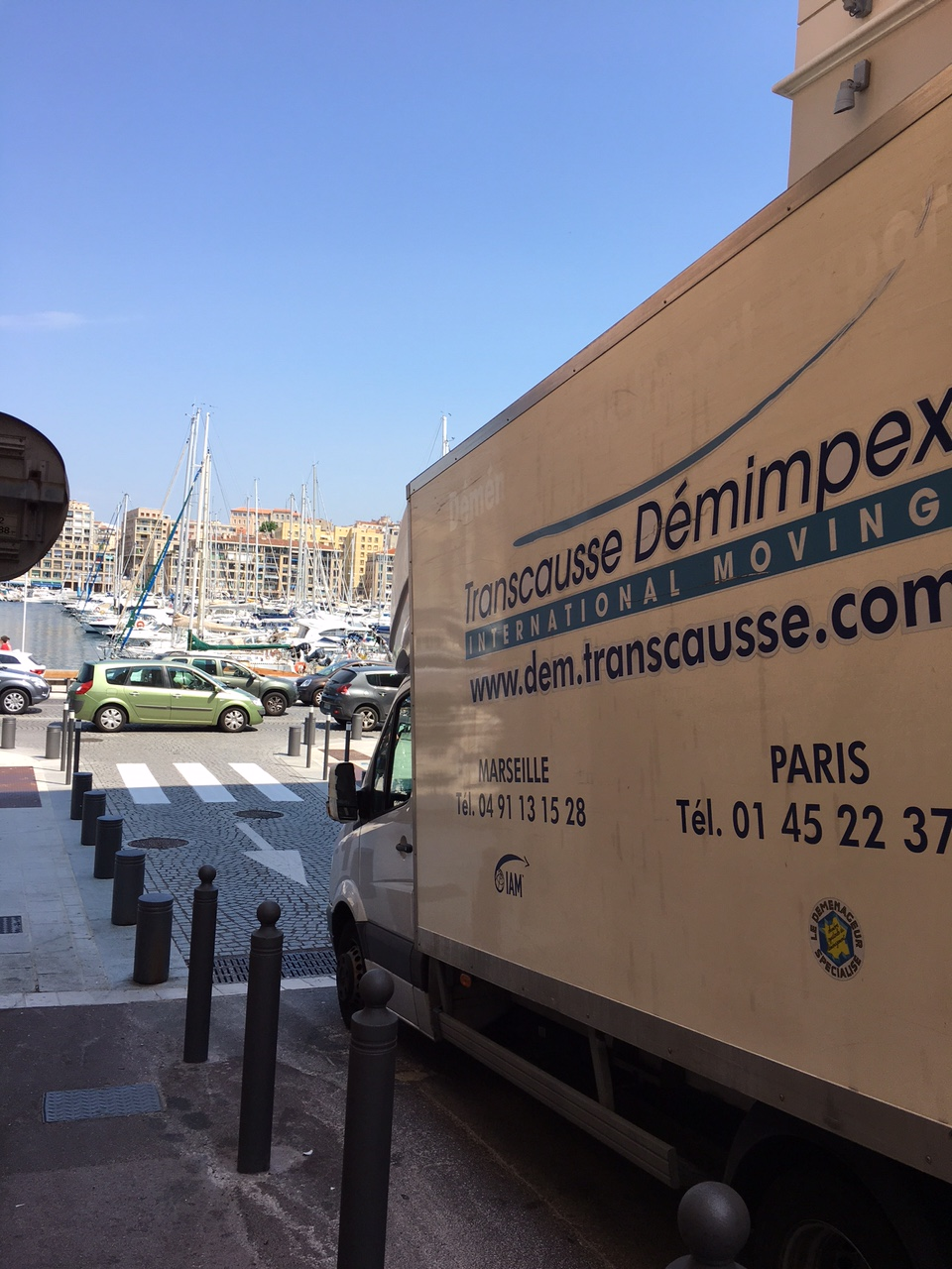 OPERATIONS DE DEMENAGEMENT EXPORT A MARSEILLE!